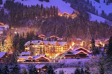 Apartment in a 5 star deluxe hotel. - Gstaad