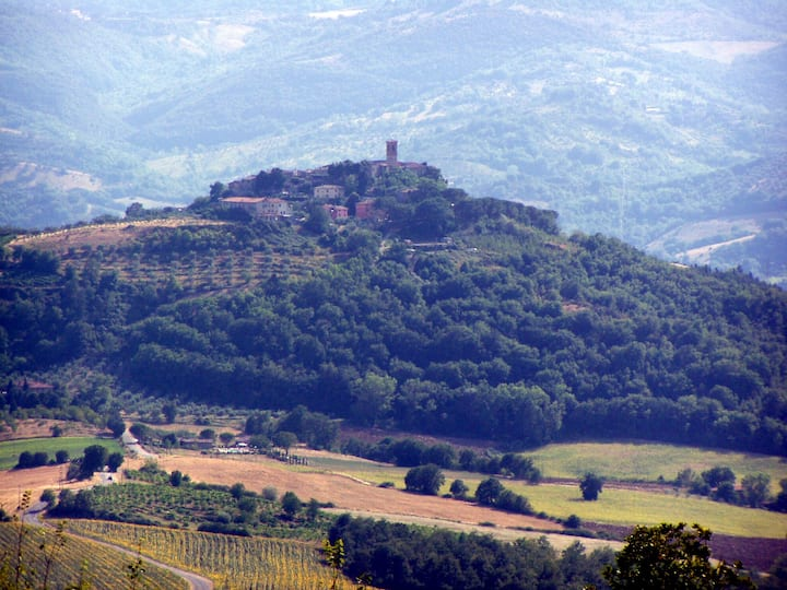 B&B il borgo sulla collina-The view