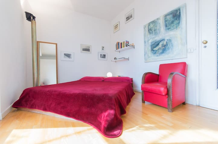 Central Room, Terrace, GreatView, Private Bathroom - Turin - Apartment
