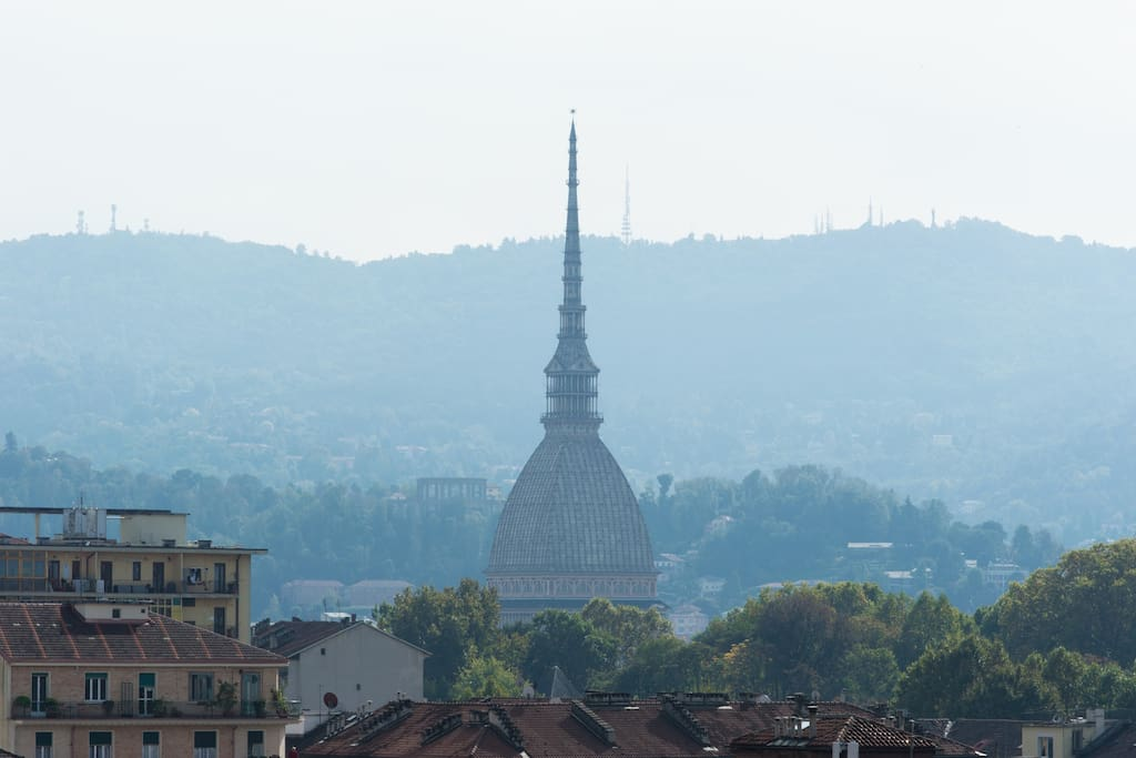 La Mole Antonelliana. This is the view from the terrace.