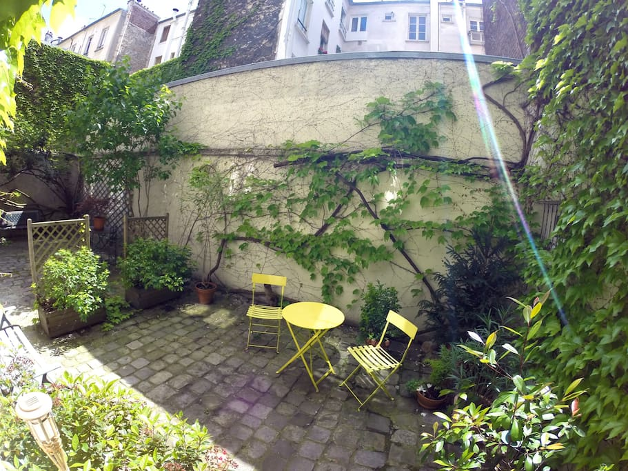 Your nice private terrace