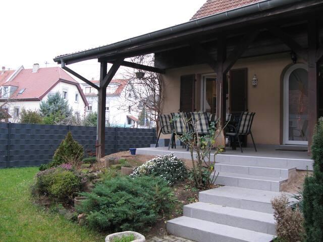 Chambre à louer dans belle maison climatisée - Bischheim - House