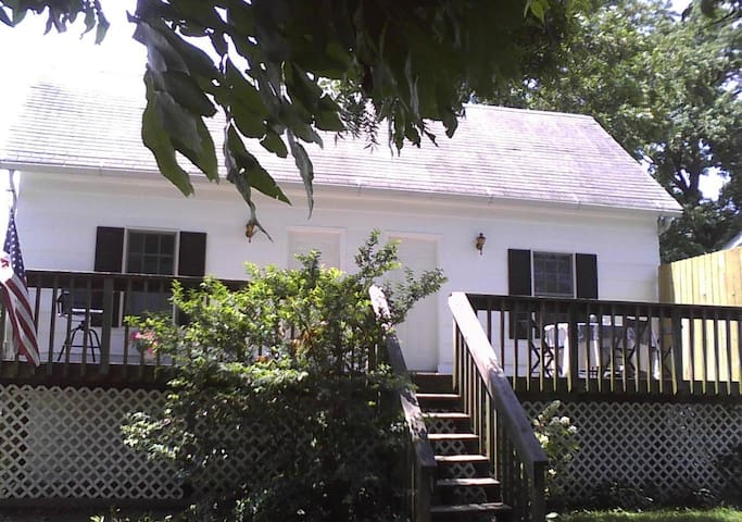 Serene cottage on the Mississippi  - Clarksville - Talo