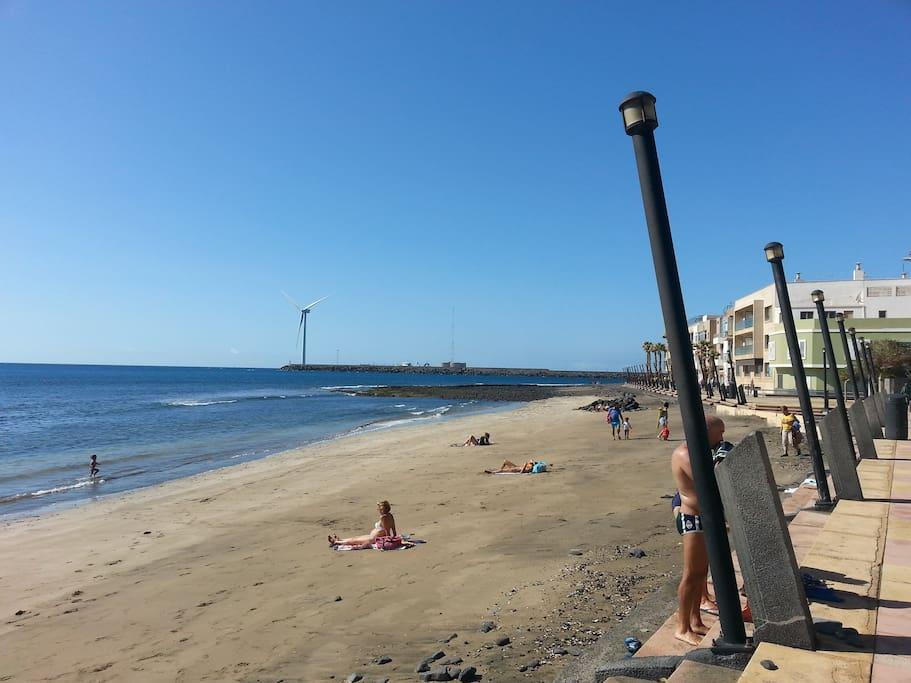 Apartamento ansite playa de arinaga apartamentos en for Alquiler piso playa arinaga