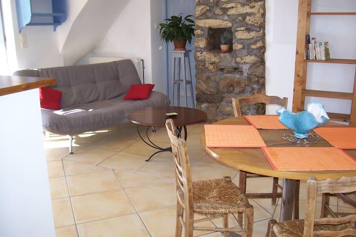 Beau T2 vue superbe vallée Durance - Curbans - Apartment