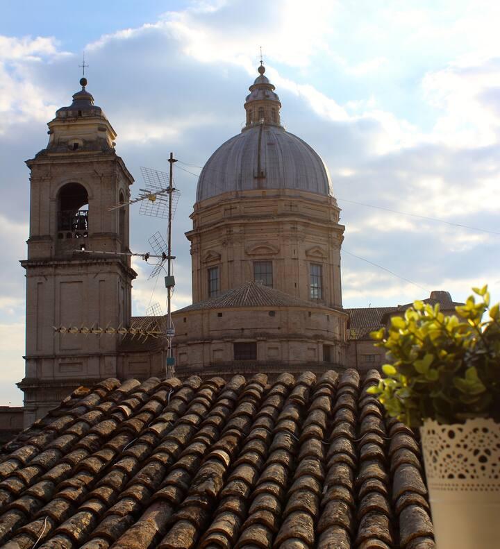 Camera privata con vista sulla Basilica