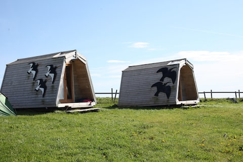 Wheems Eco Cabin 1 - Oyster Catcher