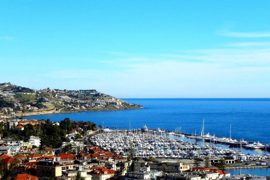 Sanremo vista su Portosole