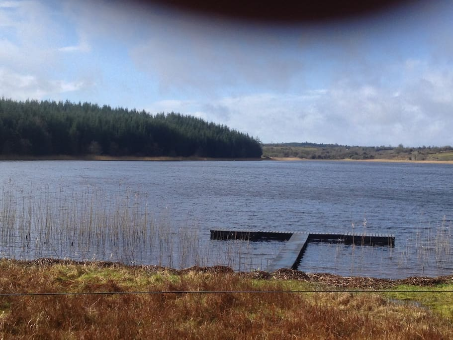 Castle fore Lake is 400M from cottage