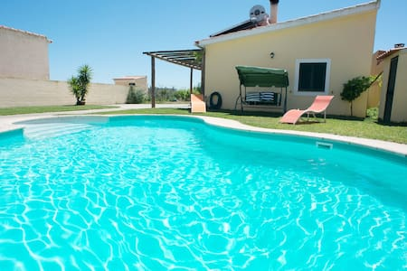 Country House - Private Pool Animals Fruits - Salvaterra de Magos - 别墅