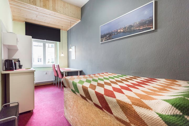 bright+central room friedrichshain
