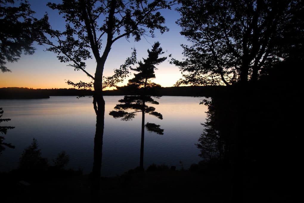 Stunning sunsets every night.