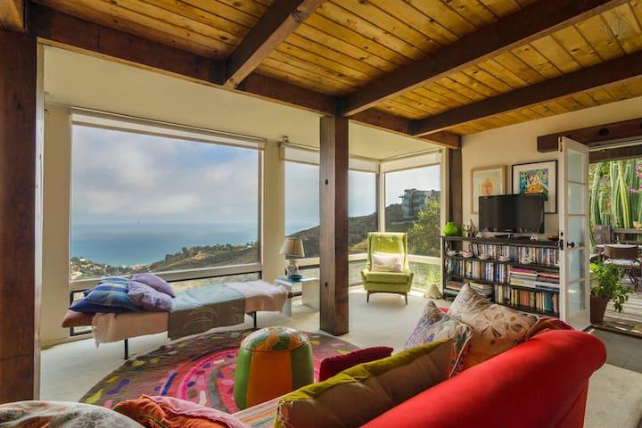 Ocean View Malibu Hideaway