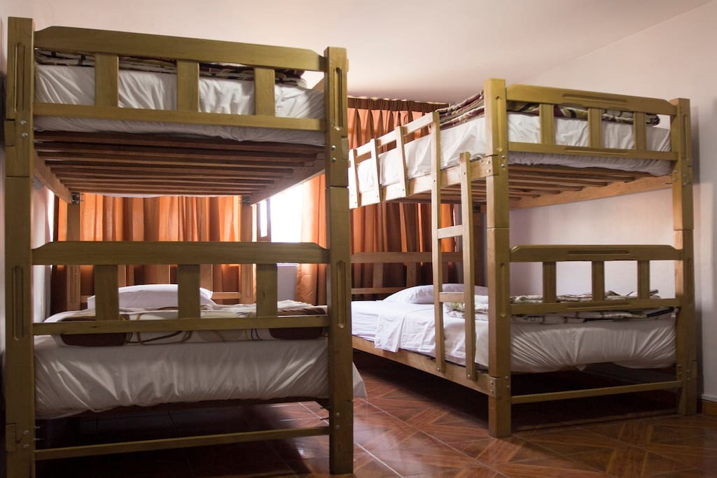 Our Dormitory available for 1 to 4 people