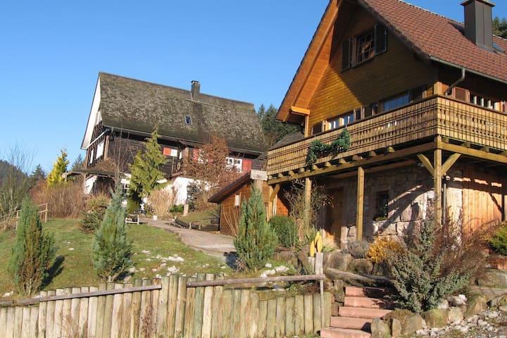 Maison de vacances de charme à Reinerzau avec sauna