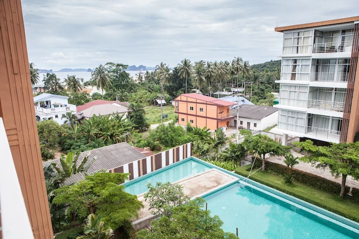 Nice 1-bedroom condo in KlongMuang  - Krabi Noi - Apartemen
