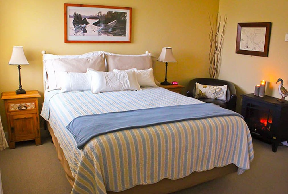 Pillow top Queen Beds in each room with private bathrooms