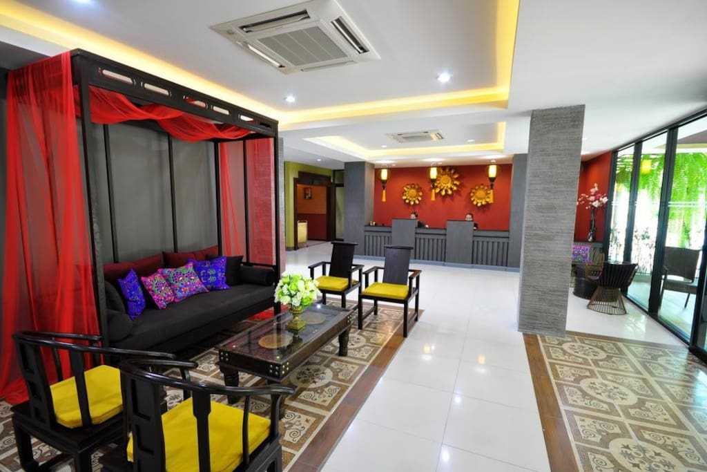 Lobby & Reception area.
