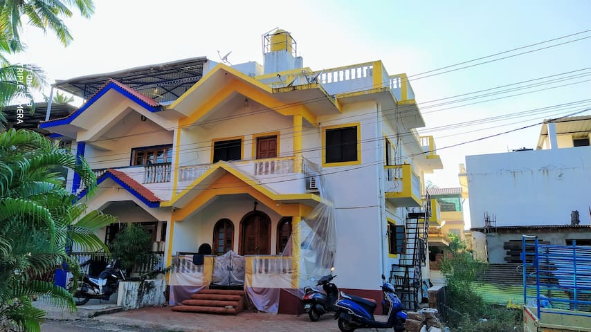 Karan's 4BHK villa with a panoramic view.