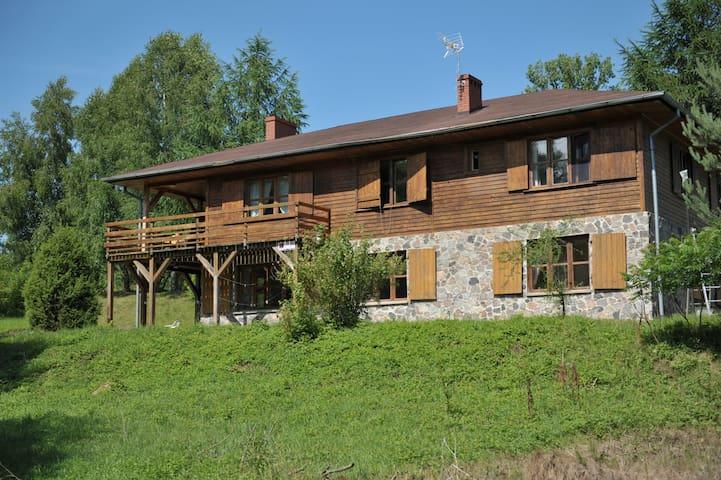 Dom nad Strugą: natura i przestrzeń - Słuchowo - House