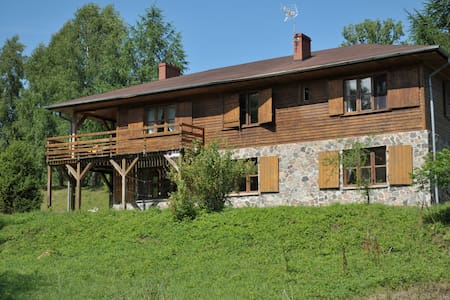 Dom nad Strugą: natura i przestrzeń - Słuchowo - 一軒家