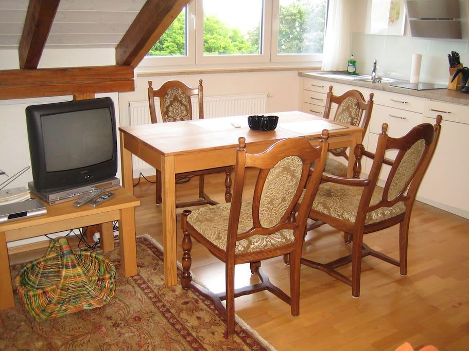 gem tliche dachwohnung 2010 gebaut apartments for rent. Black Bedroom Furniture Sets. Home Design Ideas