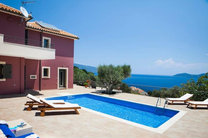 Villa Thalassini_Agia Efimia Kefalonia