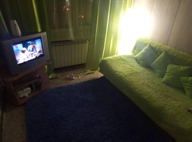 Уютная квартира в центре города возле набережной