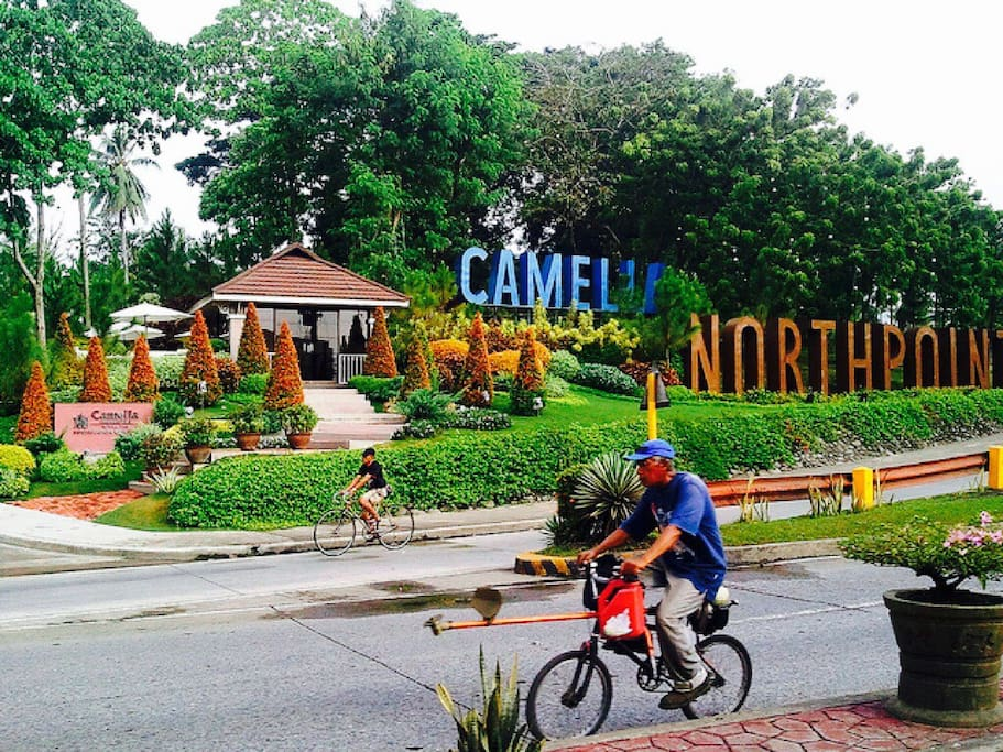 Camella Northpoint Condominium  City Road view where you can take for a jeepney & bus rides