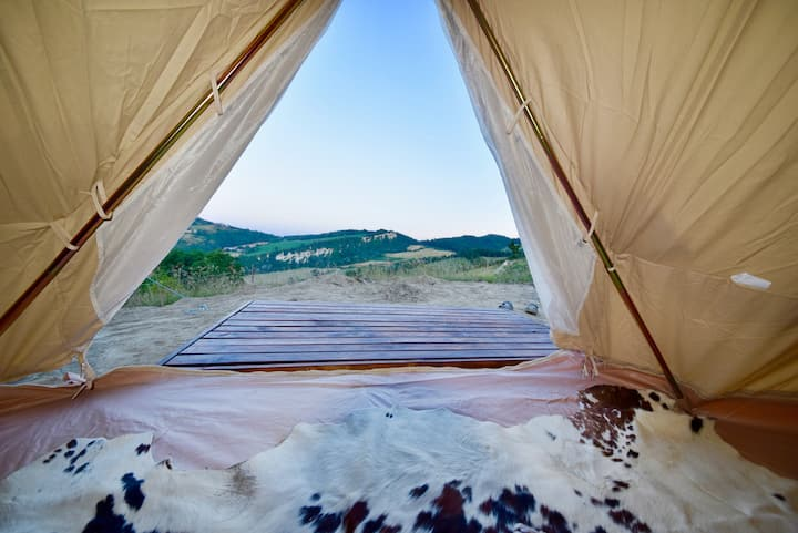 Panoramic Glamping _ Romantic city escape!
