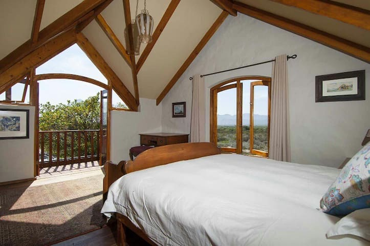 Main Bedroom with north and east views