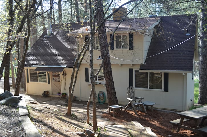 Yosemite Sugar Pine Cottage- Cozy! - Coulterville - บ้าน