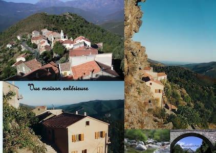 APPART. T3 CENTRE CORSE MER MONTAGN - Altiani