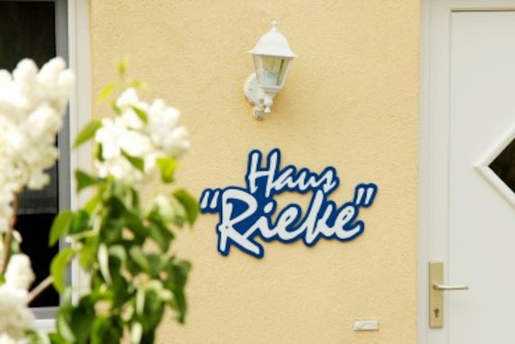 """Haus """"Rieke"""" im Frühling"""
