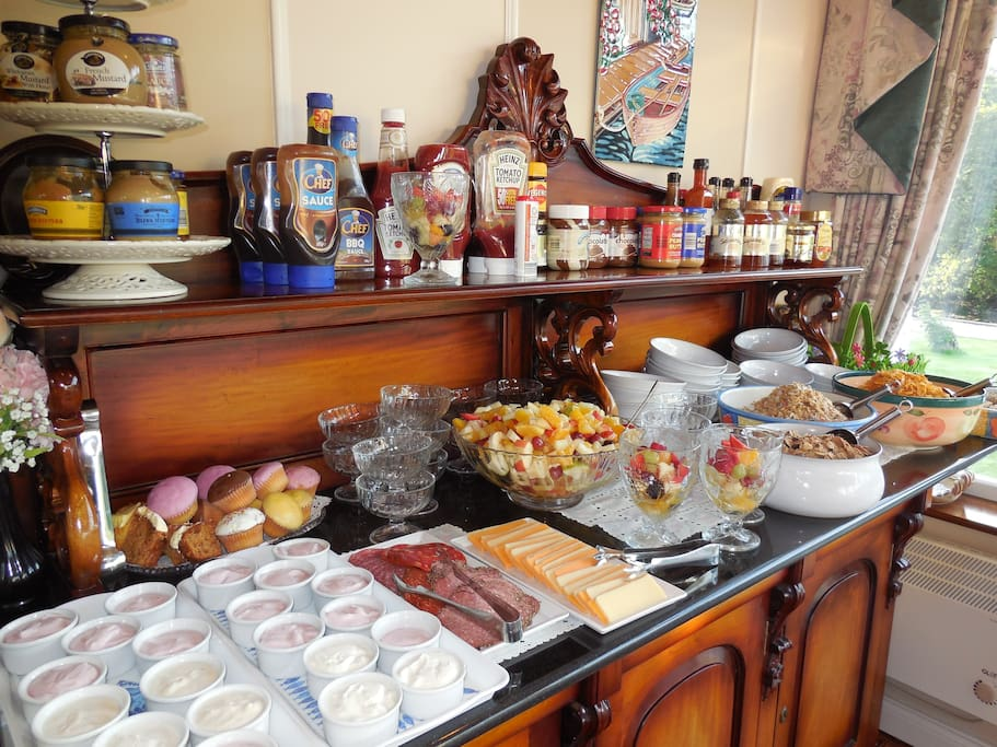 Breakfast + more from our Extensive  menu all included