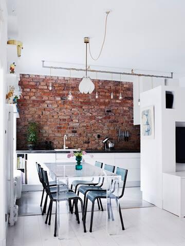 Super Location, charm, 3 bedrooms - Stockholm - Lägenhet