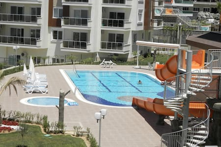 Luxury appartment 1+1 Pool, Tennis, Gym, calm - Avsallar Belediyesi - Apartemen