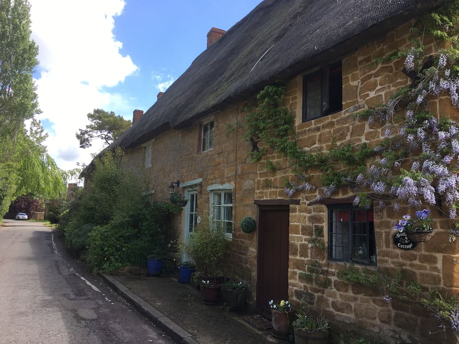 The front of Butlers cottage