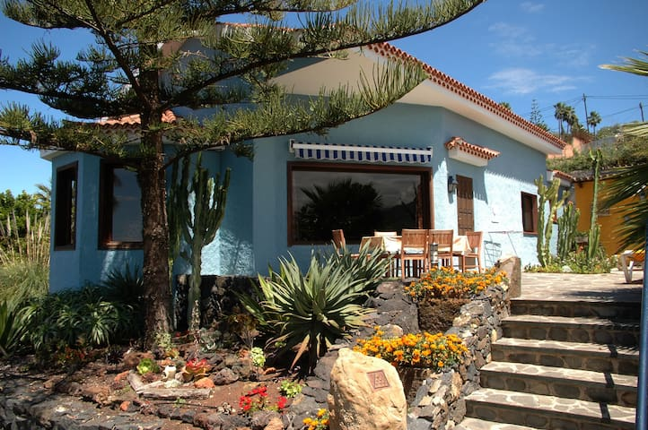 Villa with Teide and Atlantic views