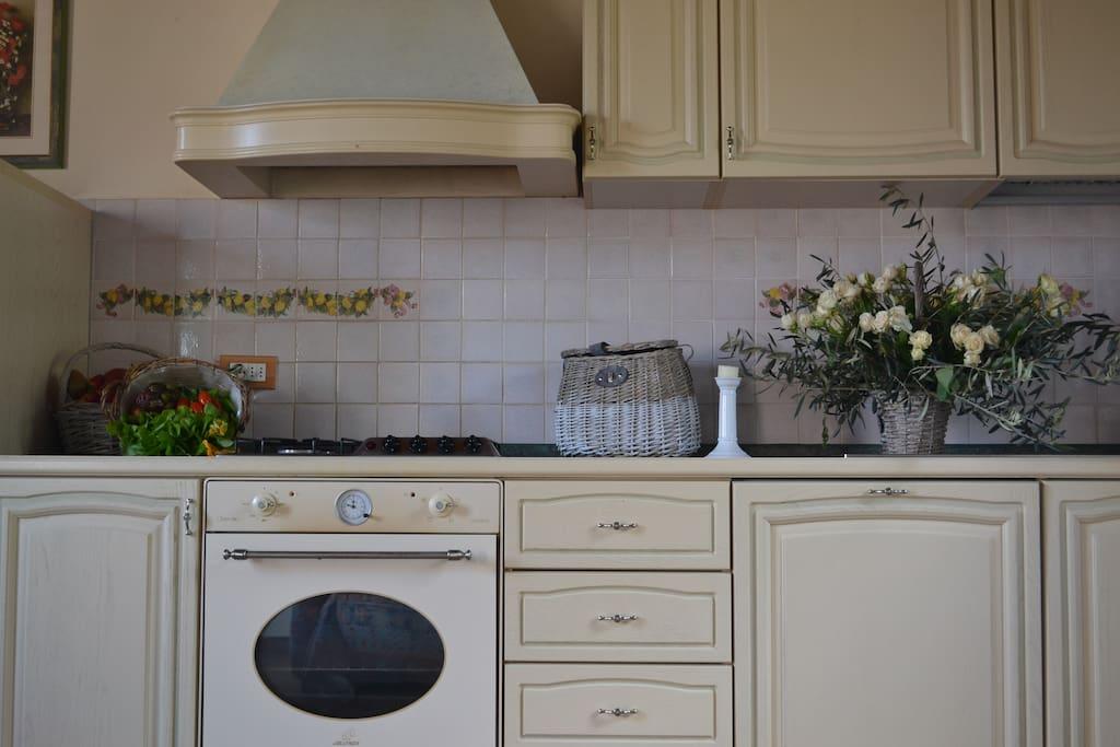 cucina appartamento margherita