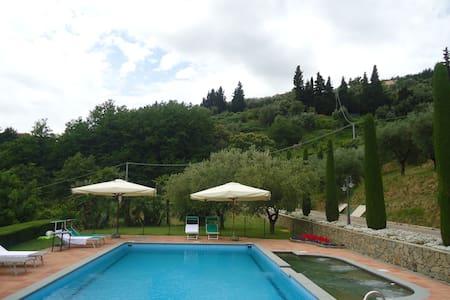 Agriturismo con piscina panoramica - Pescia