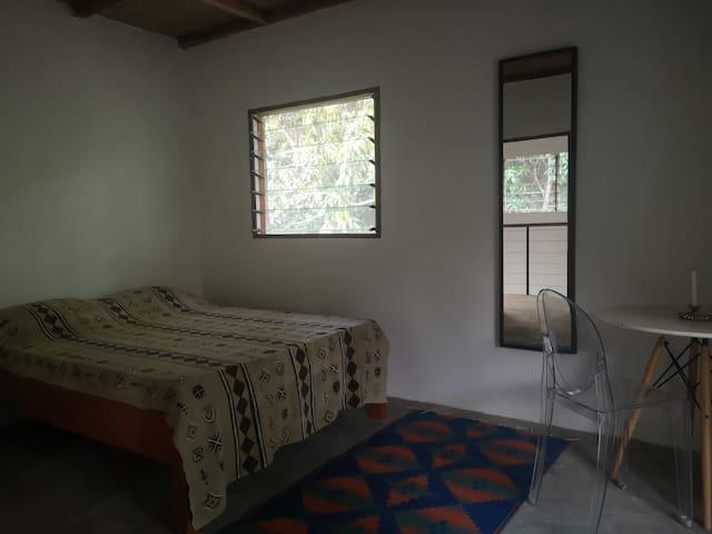 Chb dbl maison en terre au cœur de la Casamance.