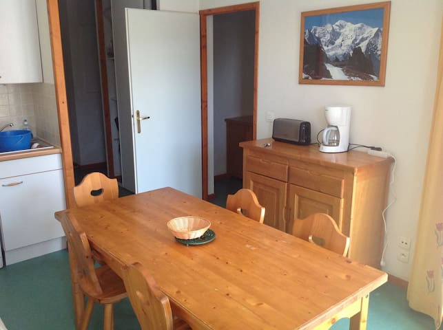 Appartement au pied des pistes - Saint-François-Longchamp - Huoneisto