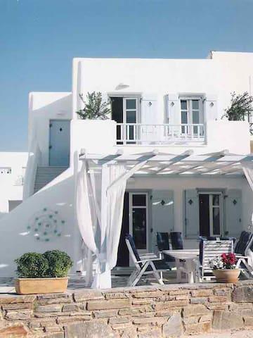 Logaras Beach Luxury Sea front House