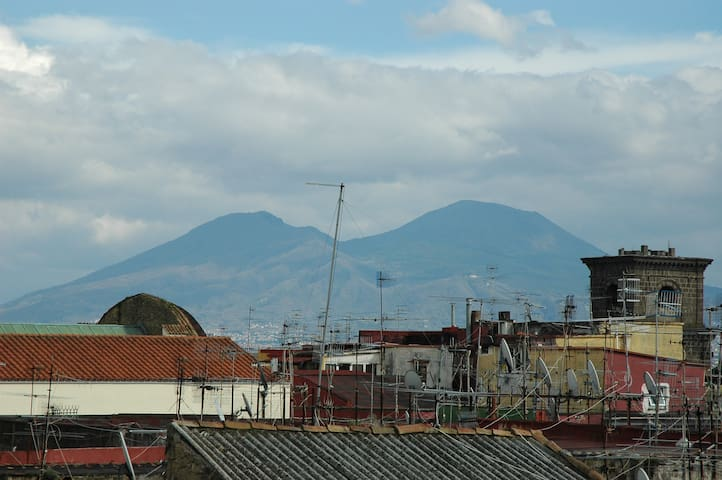 room on the roofs with panorama - Naples - Bed & Breakfast