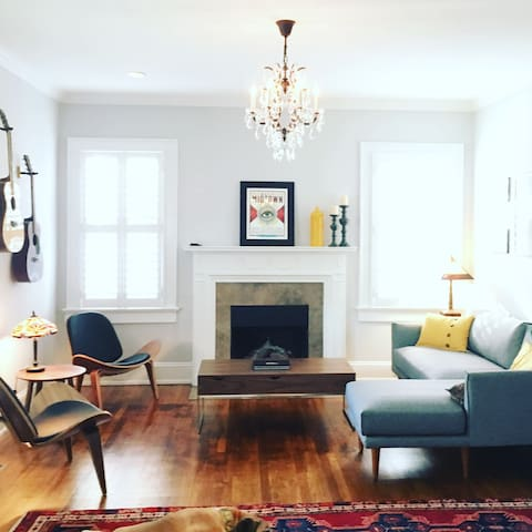 Beautiful private suite in historic Midtown