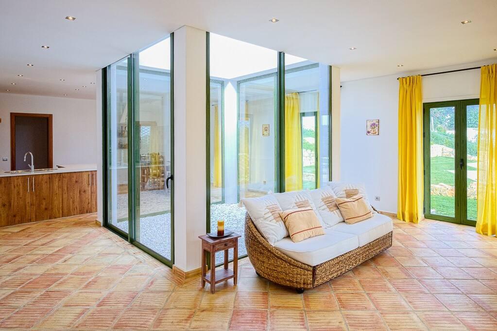Nice indoor space