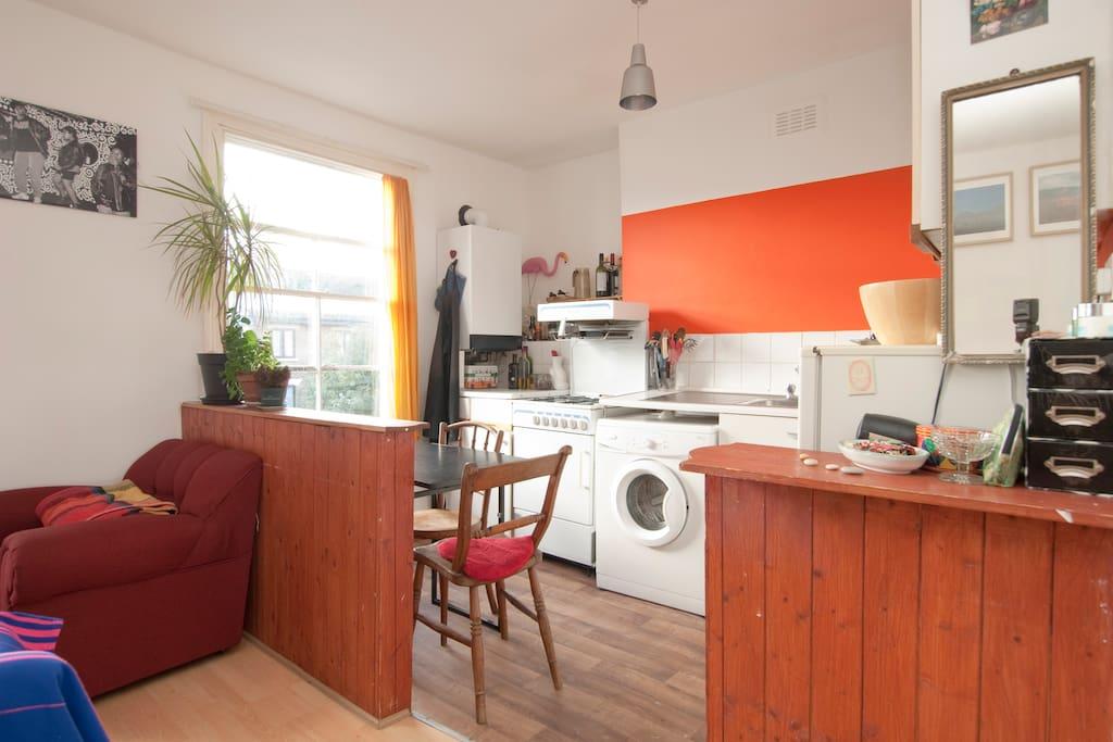 Acogedor piso de 1 habitaci n apartamentos en alquiler for Alquiler piso londres