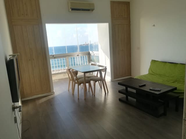 Special Offer 25$/night 63m2 Seaview,wz pool, wifi