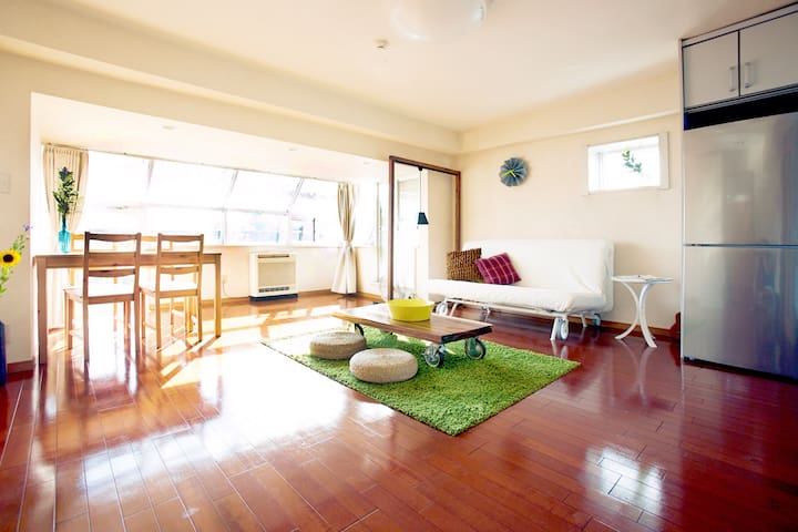 Spacious Apartment in the Heart of Tokyo!